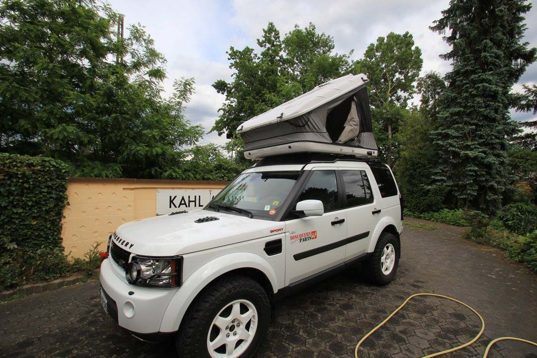 Prospeed rack and roof tent. discovery ... & XRS cross bars : ProSpeed