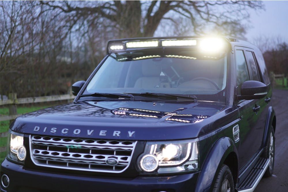 Landrover Discovery 5 Roof Mounted Lights Discovery Light
